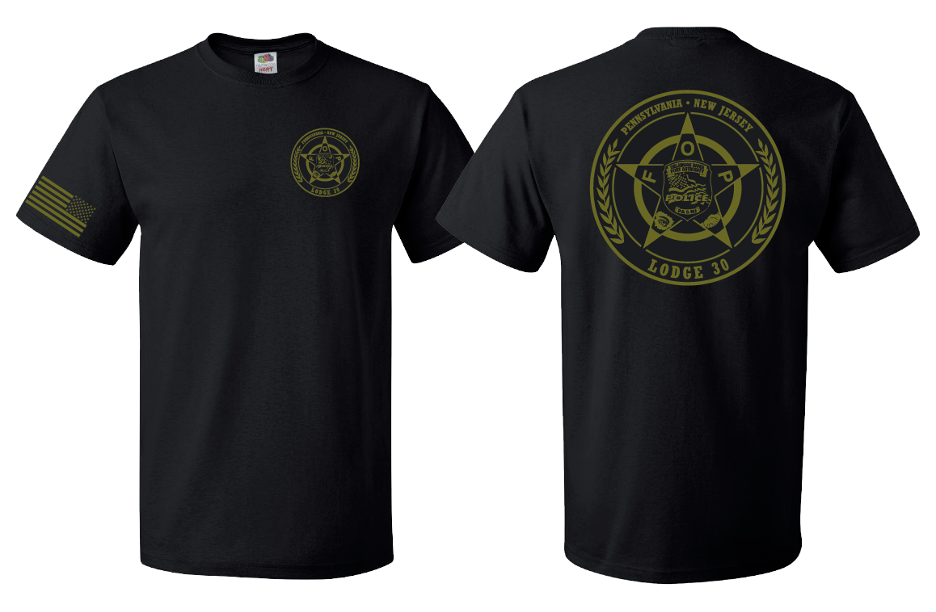 FOP Lodge 30 Annual T-Shirt/ Sweatshirt Fundraiser