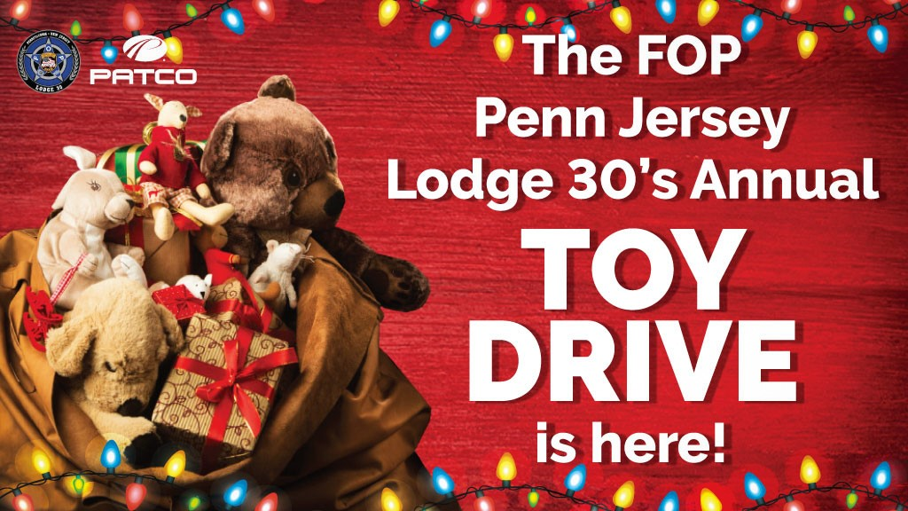 FOP Lodge 30's Annual Toy Drive