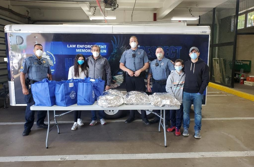 Pearson Koutcher Law Firm Provides Lunch for FOP Lodge 30